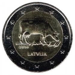 Letonia 2016 2 Euros Sector Agrario Letón S/C