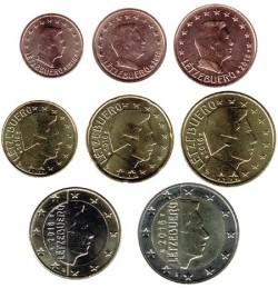 Luxemburgo 2016 Tira 8 valores S/C