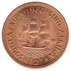 Sudáfrica 1960 1/2 Penique (Barco) S/C