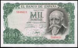 1000 Pesetas 1971 José Echegaray MBC+ (Sin serie)