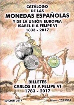Hermanos Guerra Monedas y billetes españoles 1833-2017