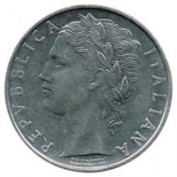 Italia 1965 - 1979 100 Liras S/C-