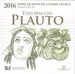 Italia 2016 Cartera Oficial S/C. Plauto