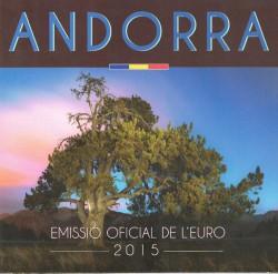 Andorra 2015 Cartera Oficial S/C