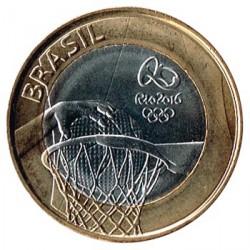 Brasil 2015 1 Real. Rio 2016 Baloncesto S/C