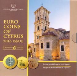 Chipre 2016 Cartera Oficial S/C