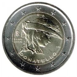 Italia 2016 2 Euros Donatello S/C
