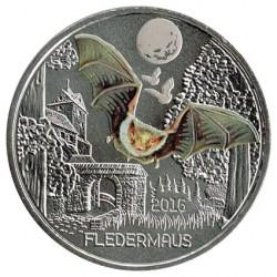 Austria 2016 3 Euros. Murciélago S/C