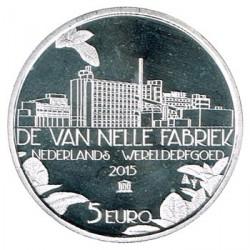 Holanda 2015 5 Euros Fábrica Van Nelle S/C