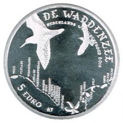 Holanda 2016 5 Euros Mar de Wadden S/C