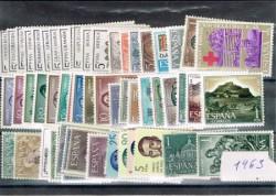 1963 Año completo de sellos