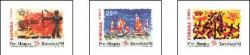 1992 - Barcelona 92. VIII serie Pre-Olímpica.(3157-59)
