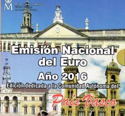 España 2016 Cartera Oficial Comunidades País Vasco S/C