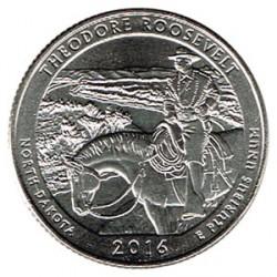 Estados Unidos (Parques) 2016 1/4 Dólar D (Theodore Roosevelt) S/C
