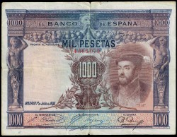 1000 Pesetas 1925 Carlos I MBC-