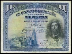 1000 Pesetas 1928 San Fernando MBC-