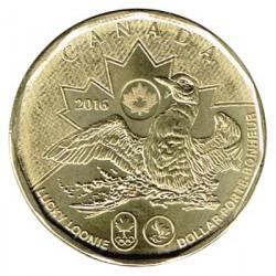 Canadá 2016 1 Dólar. Lucky Loonie S/C