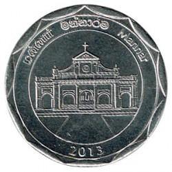 Sri Lanka 2013 10 Rupias. Distrito de Mannar