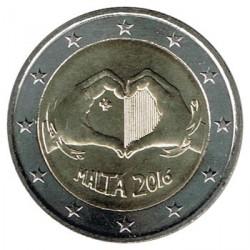 Malta 2016 2 Euros El Amor S/C