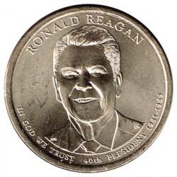 Estados Unidos 1 dólar Presidentes 2016 P. Ronald Reagan (40) S/C
