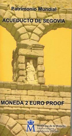 España 2016 2 Euros Acueducto de Segovia PROOF