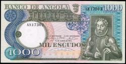 Angola 1000 Escudos PK 108 (10-6-1.973) S/C
