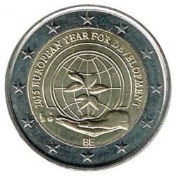 Bélgica 2015 2 Euros Año Europeo del Desarrollo S/C