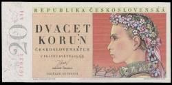 Checoslovaquia 1 Corona Pk 78a (1.953) S/C-