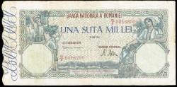 Rumanía 100.000 Lei PK 58 (1.945-47) MBC-