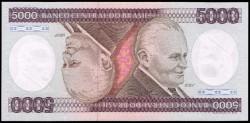 Brasil 5.000 Cruzeiros PK 202d (1.985) S/C