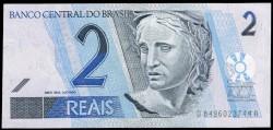 Brasil 2 Reais PK Nuevo (249) (2.001) S/C