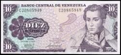 Venezuela 10 Bolívares PK 60 (6-10-1.981) S/C