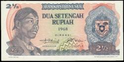 Indonesia 1 Rupia PK 103 (1.968) S/C