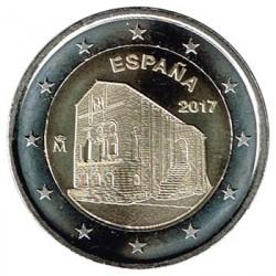 España 2017 2 Euros Iglesia de Santa María del Naranco S/C