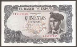 500 Pesetas 1971 Jacinto Verdaguer EBC