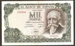 1000 Ptas 1951 Joaquín Sorolla. MBC Sin Serie