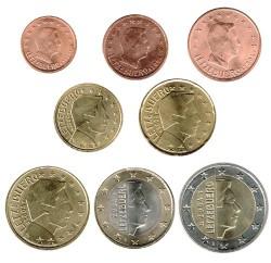 Luxemburgo 2004 Tira 8 valores S/C