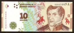 Argentina 5 Pesos PK Nuevo (2.015) S/C