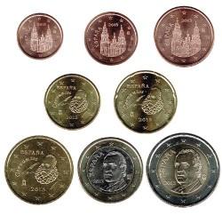 España 2013 Tira 8 valores S/C