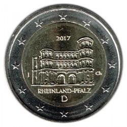 Alemania 2017 2 Euros Ceca J Porta Nigra Tréveris S/C