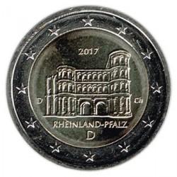 Alemania 2017 2 Euros Ceca D Porta Nigra Tréveris S/C