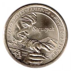 Estados Unidos 2017 1 dólar Sacagawea P. Sequoyah S/C