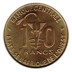 África del Oeste 1995 10 Francos FAO S/C