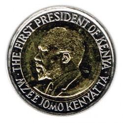 Kenia 2010 5 Shillings (Jomo Kenyatta) S/C