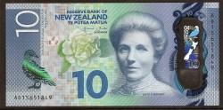 Nueva Zelanda 10 Dólares PK 192 (2.015) S/C