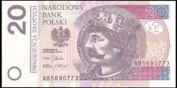 Polonia 20 Zlotych PK 184 (5-1-2.012) S/C