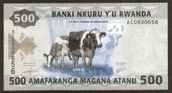 Ruanda 2.000 Francos PK Nuevo (1-12-2.014) S/C