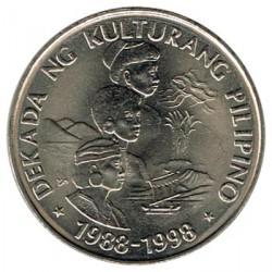 Filipinas 1989 1 Piso. Década de la cultura filipina S/C