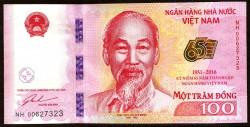 Vietnam 100 Dong PK Nuevo (2.016) S/C