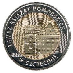 Polonia 2016 5 Zlotys (Castillo de los Duques de Pomerania) S/C